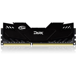 16GB TeamGroup Dark Series schwarz DDR3-2133 DIMM CL10 Dual Kit