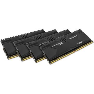 16GB HyperX Predator DDR4-2133 DIMM CL13 Quad Kit