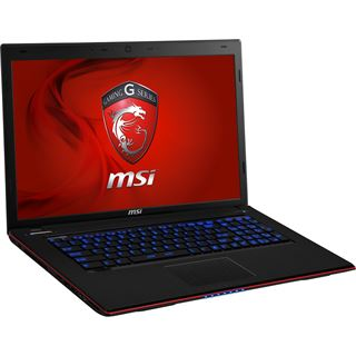 "Notebook 17.3"" (43,94cm) MSI GE70-2PCi581FD FreeDOS"