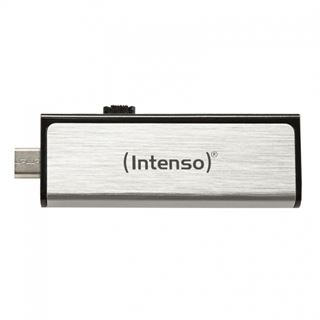 32 GB Intenso Mobile Line schwarz/silber USB 2.0