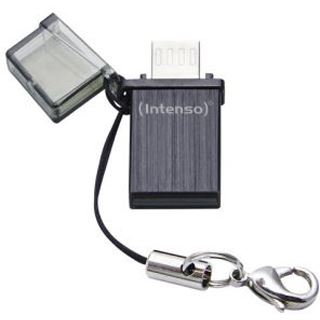 8 GB Intenso Mini Mobile Line silber USB 2.0