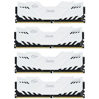 16GB TeamGroup Dark Series weiß DDR4-2800 DIMM CL16 Quad Kit