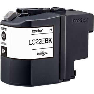 Brother Tinte LC22EBK schwarz