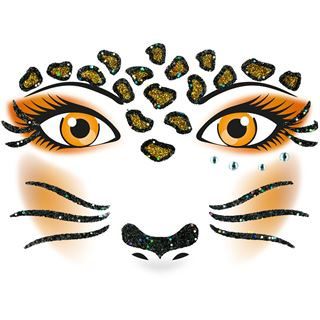 Herma Face Art Sticker Leopard