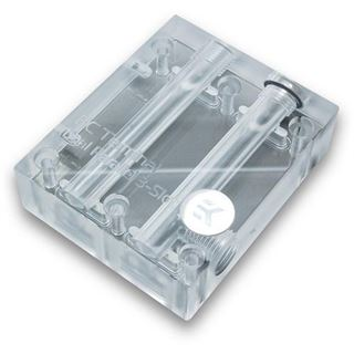 EK Water Blocks EK-FC Terminal DUAL Parallel 3-Slot -Acryl