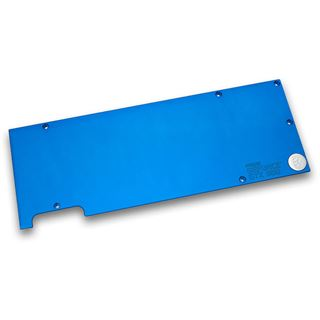 EK Water Blocks EK-FC Titan X Backplate - blau
