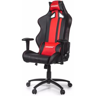 AKRacing Rush Gaming Chair schwarz/rot